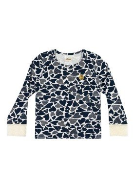 blusa manga longa infantil menina marinho elian 231302 1