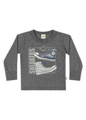 camiseta manga longa infantil menino sneakers mescla elian 22983 1