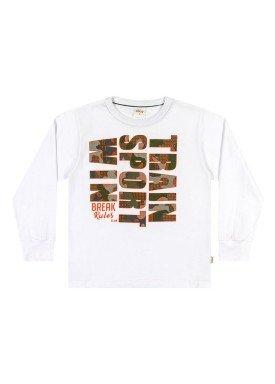 camiseta manga longa infantil menino sport branco elian 24963 1