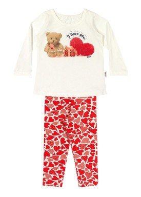 conjunto manga longa bebe menina love natural elian 21962 1