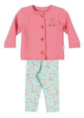 conjunto manga longa bebe menina rosa elian 21968 1