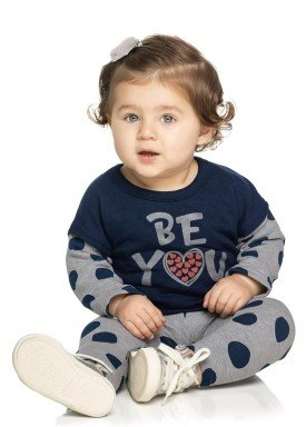 conjunto moletom bebe menina beyou marinho elian 21964 4