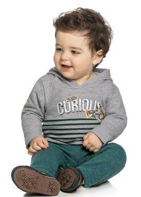 conjunto moletom bebe menino curious mescla elian 20843 4