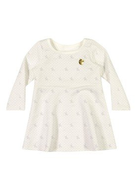 vestido manga longa bebe menina natural elian 211012 1