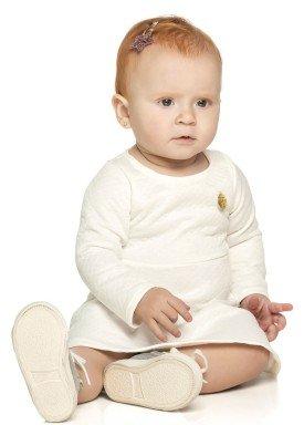 vestido manga longa bebe menina natural elian 211012 2