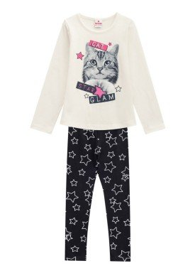 conjunto manga longa infantil menina cat natural brandili 53491 1