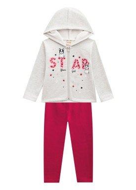 conjunto moletom infantil menina star mescla brandili 53646 1