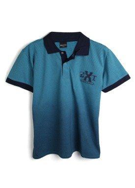 camisa polo juvenil menino bordada azul extreme 33400 1