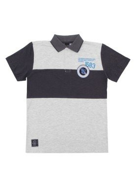 camisa polo juvenil menino preto extreme 23681 1
