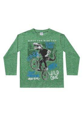 camiseta manga longa infantil menino wild verde fakini 1243 1