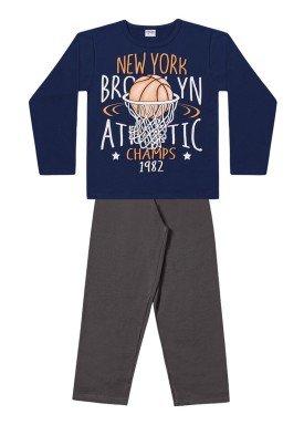 conjunto moletom infantil menino new york marinho fakini 1163 1