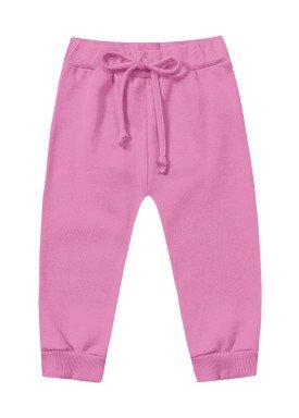 calca moletom bebe menina arco iris rosa fakini 1006 1