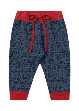calca moletom bebe menino marinho fakini 1206