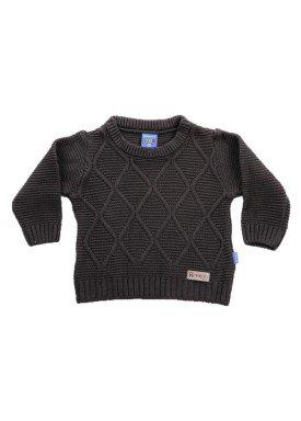 sueter trico bebe menino chumbo remiro 1036