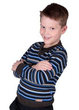 sueter trico infantil menino azul remiro 1231 2