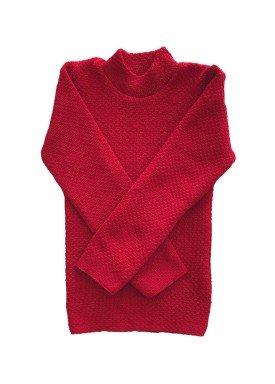 blusa la infantil menina vermelho remiro 0102