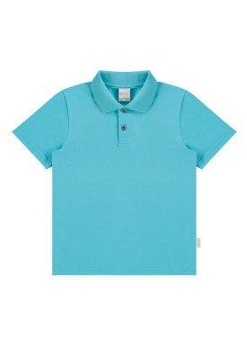 camisa polo basica infantil menino azul alakazoo 00149 1