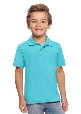 camisa polo basica infantil menino azul alakazoo 00149 2