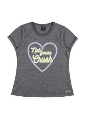 blusa juvenil feminina crush mescla youngclass 33365