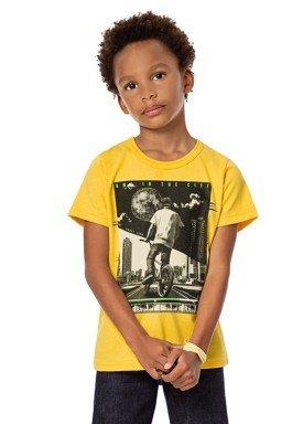 camiseta infantil masculina bmx amarelo alenice 46871 1