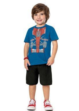 conjunto infantil masculino racing azul alenice 44185 1