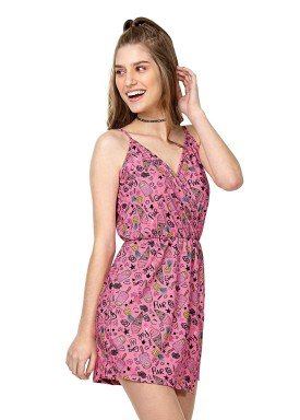 macacao juvenil feminino sorvetes rosa rezzato 30647 1
