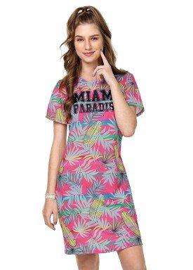 vestido juvenil feminino paradise rosa rezzato 30649 1