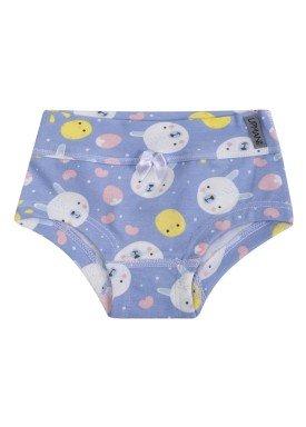 calcinha infantil feminina ursinhos azul upman mini 464c5