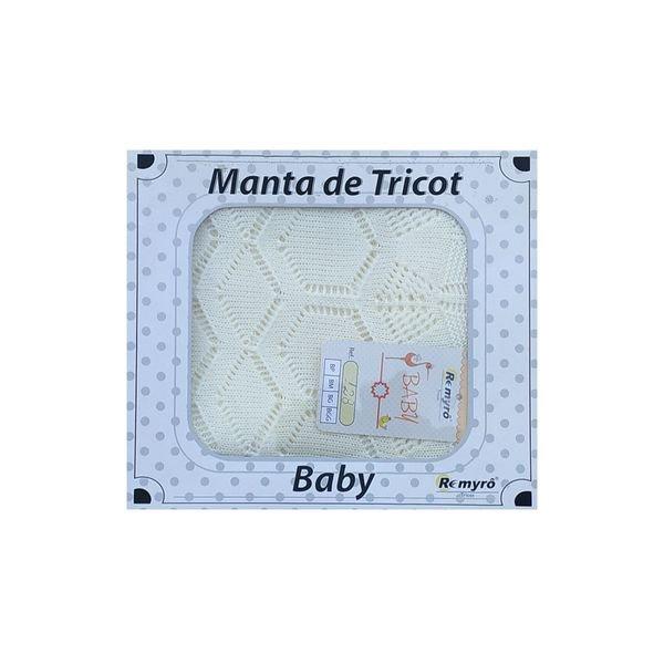 manta trico bebe natural remyro 128 1