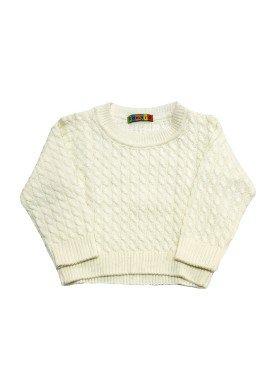 blusao trico bebe masculino natural remyro 0950