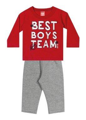 conjunto manga longa bebe masculino team vermelho elian 20845 1