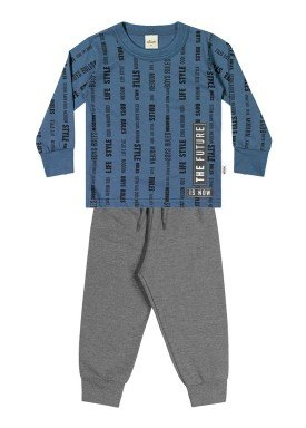 conjunto manga longa infantil masculino future azul elian 22973 1