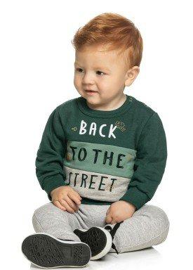 conjunto moletom bebe masculino street verde elian 20832 1