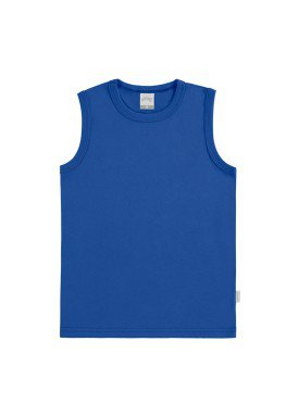 regata basica infantil masculina azul alakazoo 00186