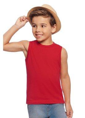 regata basica infantil masculina vermelho alakazoo 00186 1