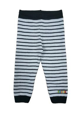 calca trico bebe masculina listrada preto remyro 0123 1