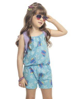 macaquinho infantil feminino estampado azul kamylus 9998 1