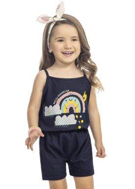 macaquinho infantil feminino sunshine marinho kamylus 9984 1