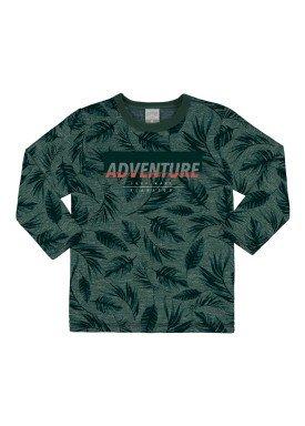 calca moletom infantil masculina adventure verde alakazoo 67398