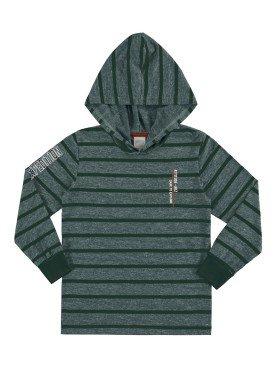 camiseta manga longa infantil masculina expedition verde alakazoo 67417