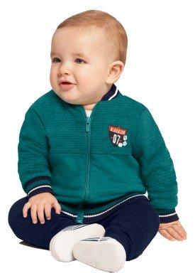 conjunto jaqueta bebe masculino verde alakazoo 67366 1