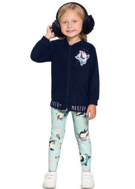 conjunto jaqueta infantil feminino makeup marinho alakazoo 67482 1