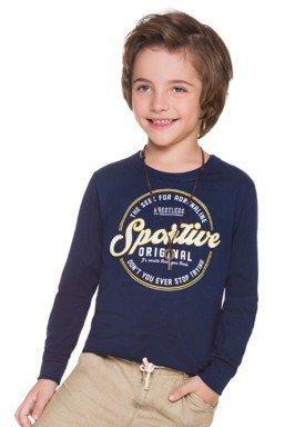 camiseta manga longa infantil masculina sportive marinho brandili 53521 1