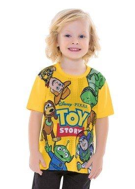 camiseta infantil masculina toystory amarelo fakini 2487 1