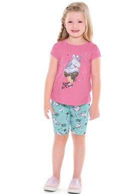 conjunto infantil feminino dream rosa forfun 2131 1