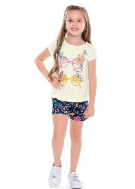 conjunto infantil feminino glasses marfim forfun 2132 1