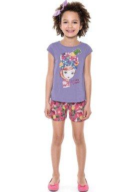 conjunto infantil feminino summer lilas forfun 2124 1