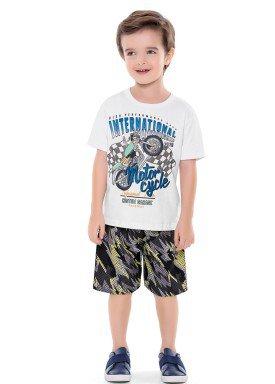 conjunto infantil masculino motorcycle branco forfun 2163 1