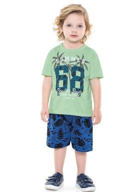 conjunto infantil masculino paradise verde forfun 2159 1
