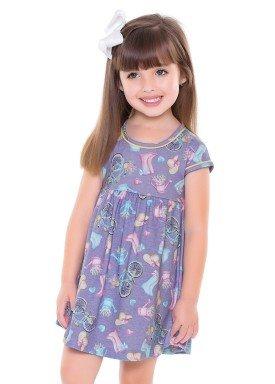 vestido infantil feminino bycicle lilas forfun 2113 1